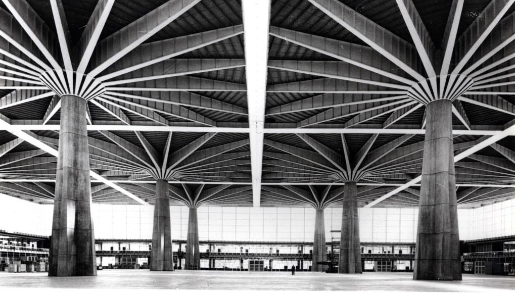 Дворец труда в Турине. 1959–1961