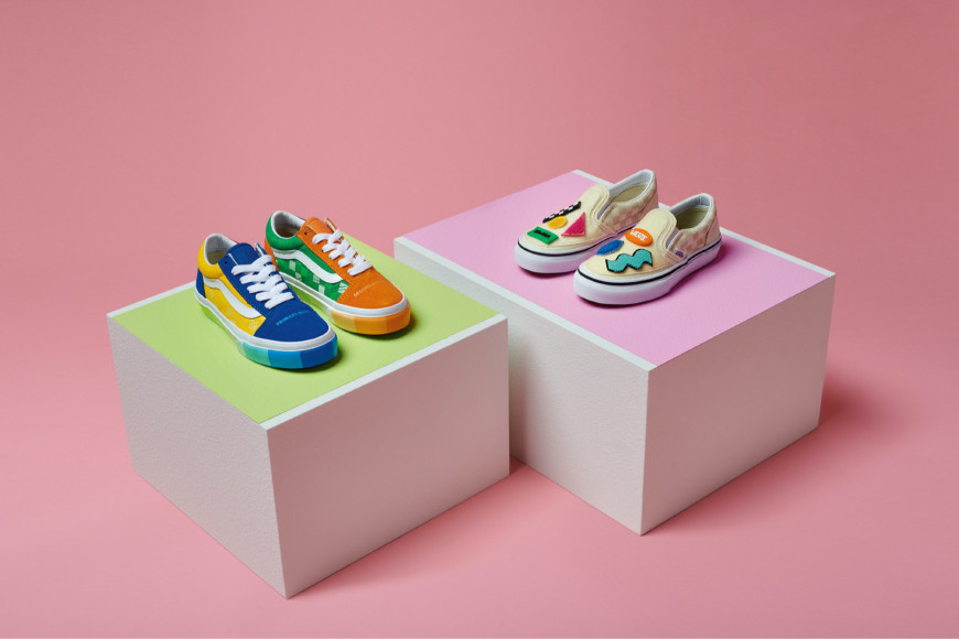 Детская обувьиз совместной коллекции Vans X MoMA