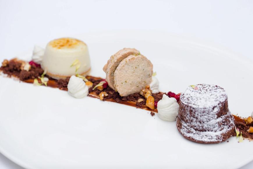 Десерт «Шоколадная фантазия»