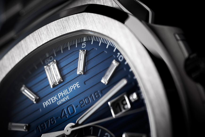 Хронограф Nautilus Chronograph Ref. 5976/1G 40th Anniversary Limited Edition