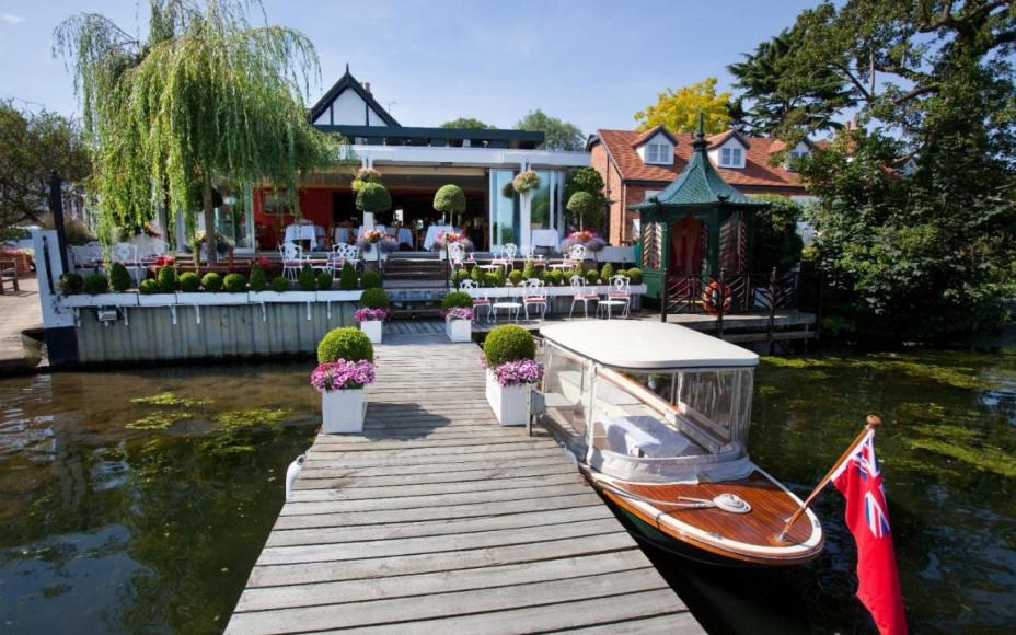 Ресторан «Waterside Inn», Брей-он-Темз, Великобритания