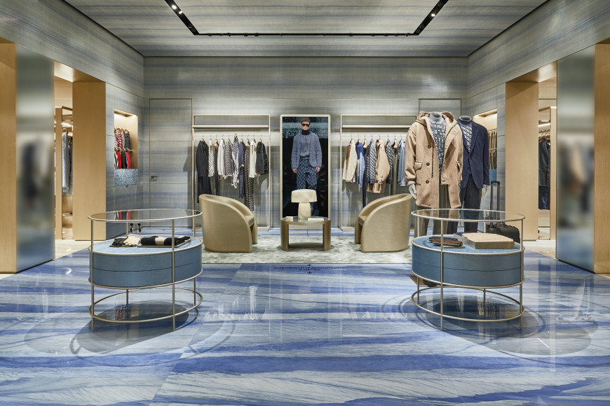 Обновленный бутик Giorgio Armani в «Барвиха Luxury Village»