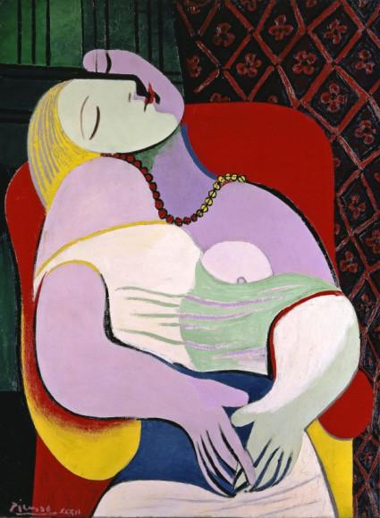Пабло Пикассо. The Dream (Le Rêve). 1932