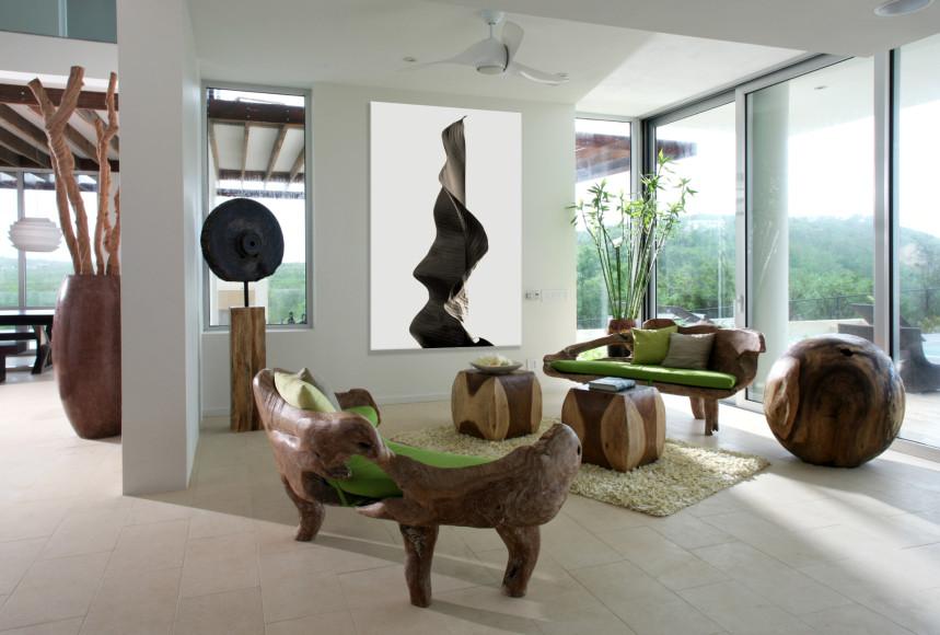 Гостиная виллы (ANI Private Resort Anguilla)