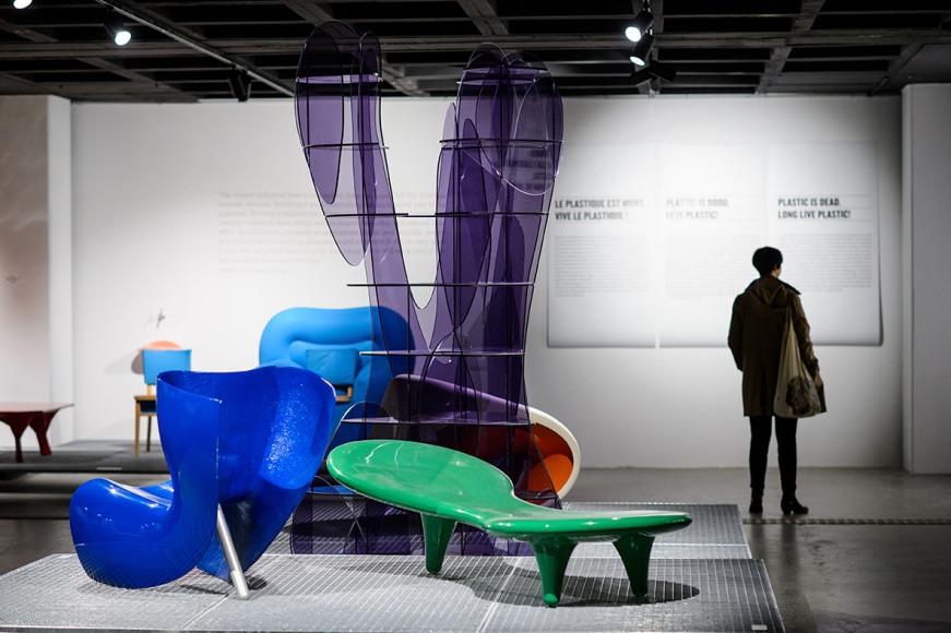 Коллекция пластиковой мебели музея дизайна ADAM