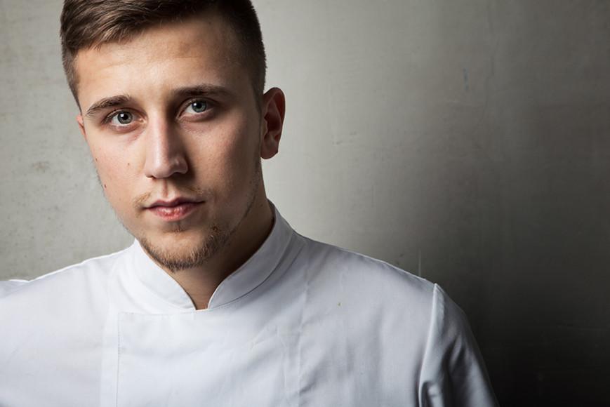Шеф-повар ресторана «Мюсли» Влад Корпусов