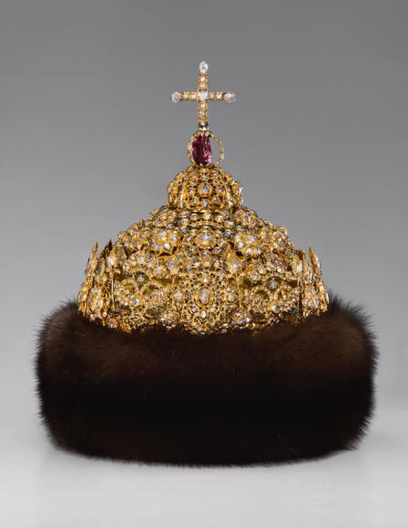Шапка «Алмазная» царя Иоанна Алексеевича. Мастерские Московского Кремля, 1680-е гг.