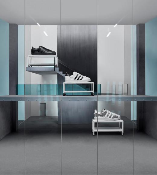 Кроссовки Superstar из новой коллаборации Prada и adidas Originals