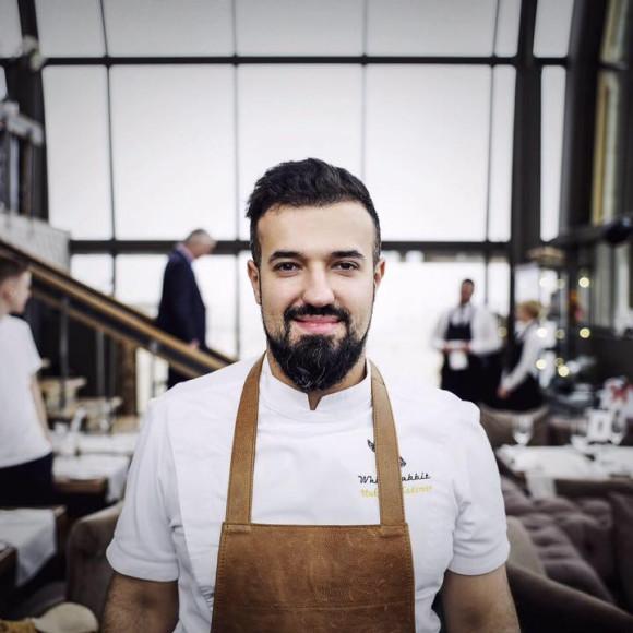 Бренд-шеф ресторана White Rabbit Владимир Мухин