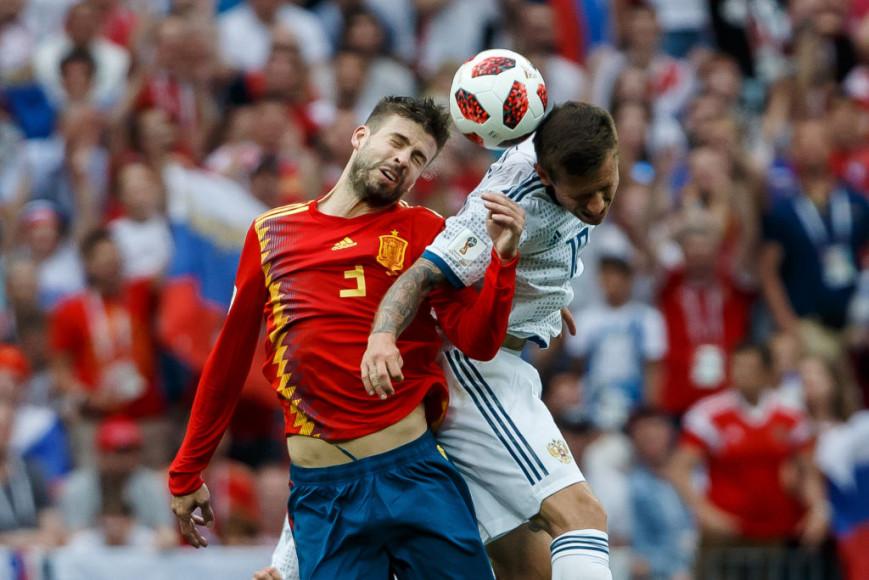 Матч Россия —Испания