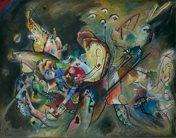 ВасилийКандинский. «Смутное», 1917