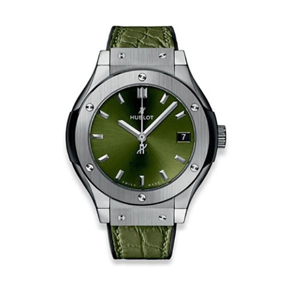 Classic Fusion Titanium Green, Hublot