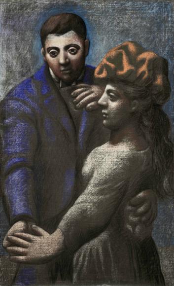 Пабло Пикассо. Деревенский танец, 1922 Национальный музей Пикассо, Париж
