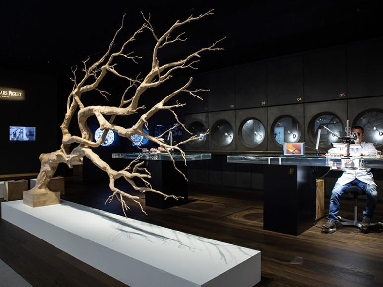 Лаунж Audemars Piguet, оформленный дизайнером Себастьеном Эрразуризом