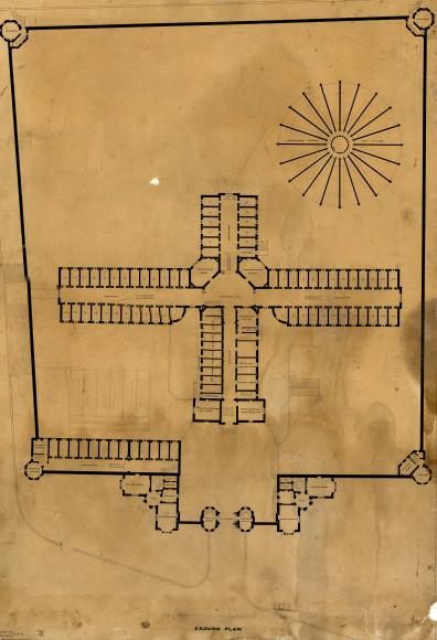 План тюрьмы Рединг