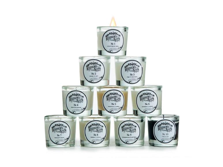Набор мини-свечей (10 шт.)Windsor's Soap,5490 руб. (windsor.care)