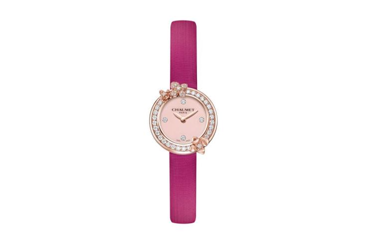 Часы Hortensia Éden Fuschia, Chaumet, 990 000 руб. (Chaumet)