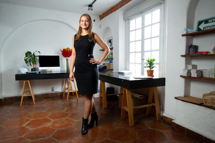 Лауреат премии Cartier Women's InitiativeВалентина Рогачева (Мексика)
