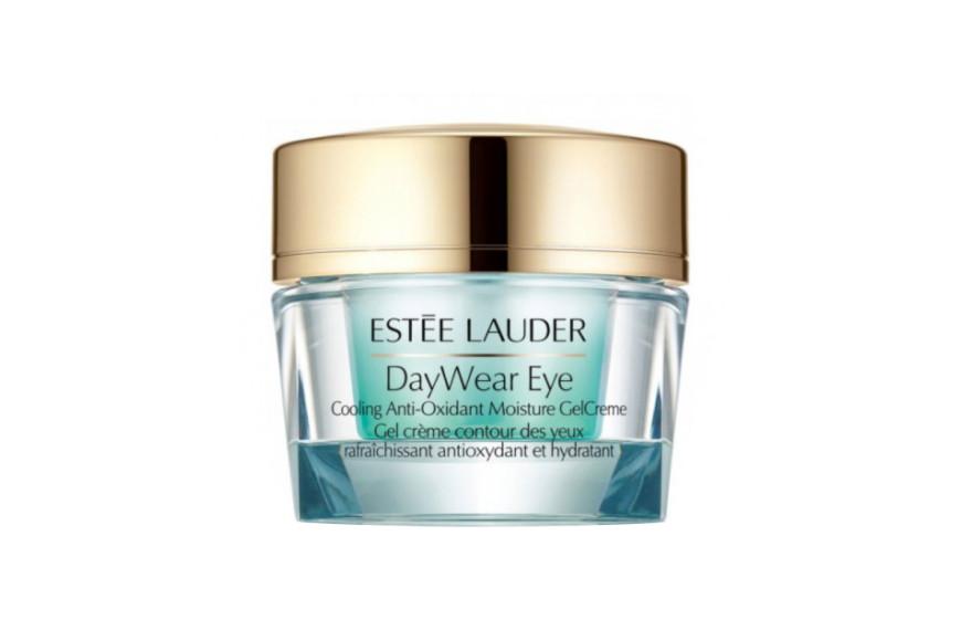 Увлажняющий гель-крем для кожи вокруг глаз с антиоксидантами и охлаждающим эффектом DayWear Eye, Estée Lauder с экстрактом огурца и комплексом антиоксидантов мгновенно освежает кожу вокруг глаз и придает ей отдохнувший вид, устраняет отечность и разглаживает мелкие морщины, вызванные сухостью