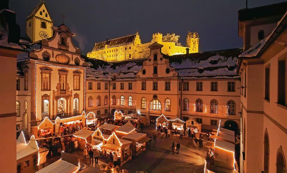 Рождественская ярмарка в Фюссене