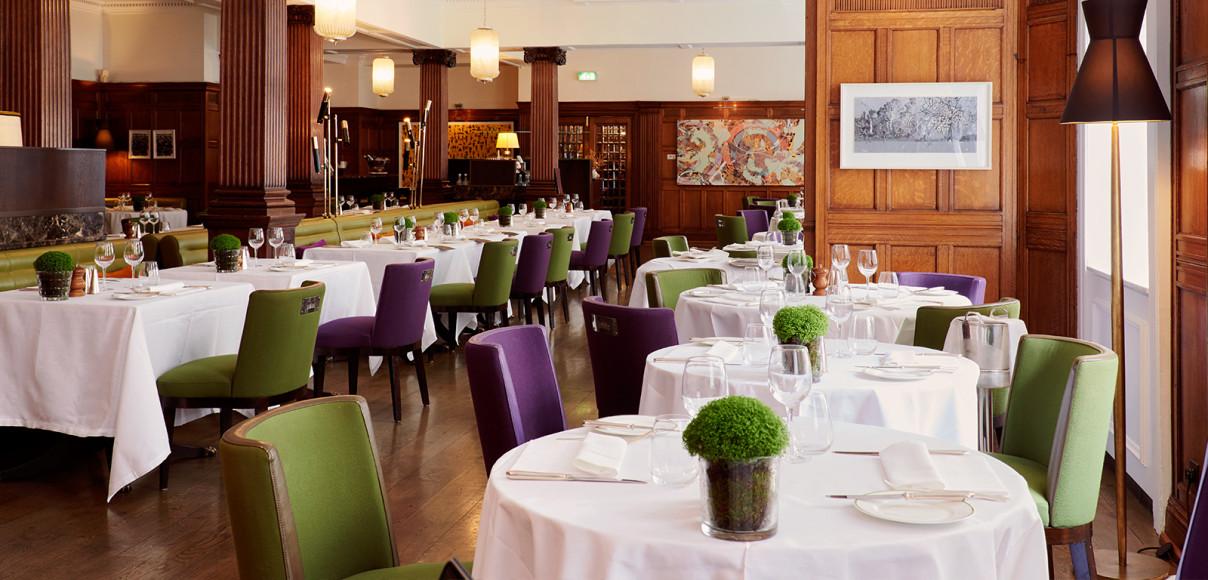 Ресторан HIX Mayfair в отеле Brown's