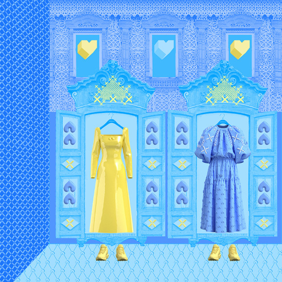 Виртуальная коллекция одежды от Alena Akhmadullina