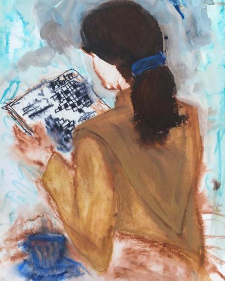 Рисунок Вероники Ивашкевич для osome2some