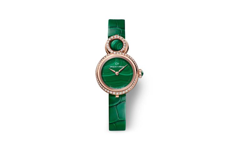 Часы Lady 8 Petite Malachite, Jaquet Droz, 2 215 000 руб. (Sublime)