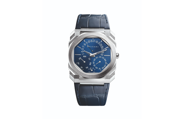 Часы Octo Finissimo Perpetual Calendar Platinum, Bvlgari