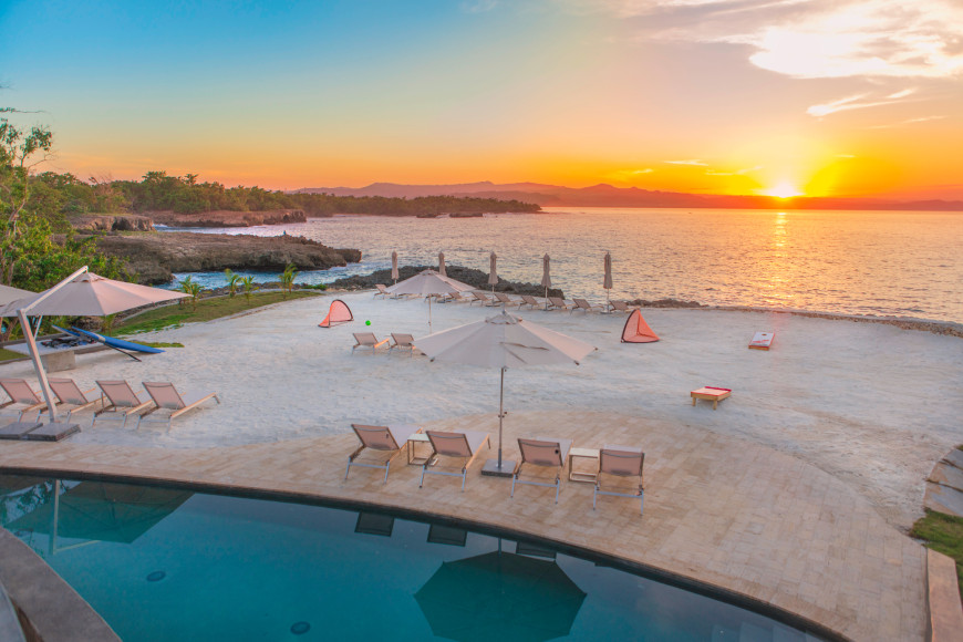 Пляж(ANI Private Resort Dominican Republic)
