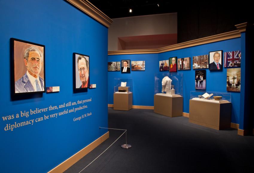 Выставка «The Art of Leadership: A President's Personal Diplomacy»
