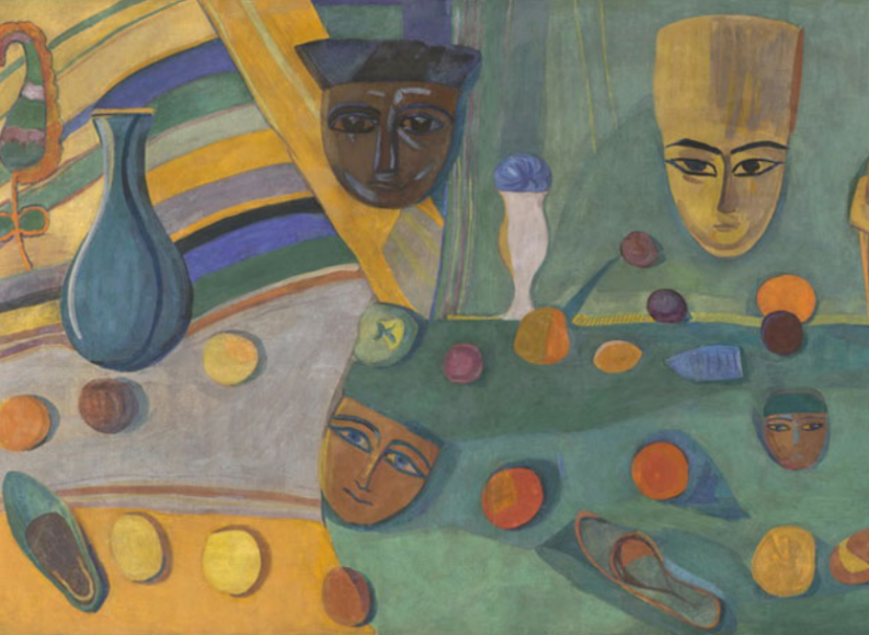 Мартирос Сарьян. Египетские маски, 1915