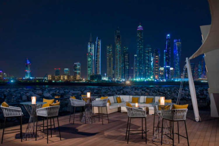 Ресторан 101 Dining Lounge and Bar в отеле One&Only The Palm (Дубай)