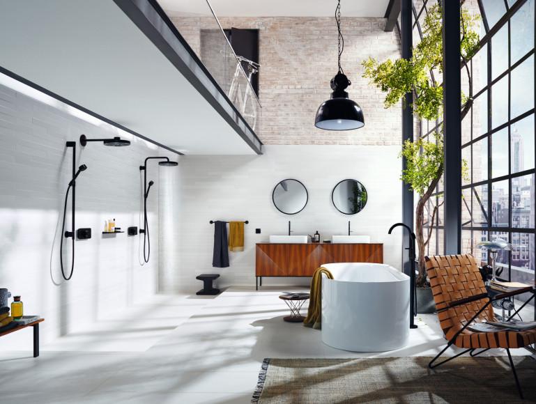 Ванная комната «Нью-Йорк», проект AXOR Compact Luxury, дизайн Barber Osgerby