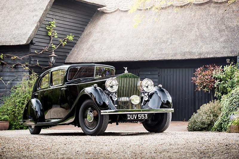 Rolls-Royce Phantom III Бернарда Лоу Монтгомери