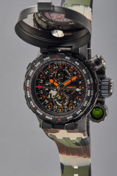 Часы Tourbillon Chronograph Adventure, Richard Mille. Эстимейт$250–500 тыс.