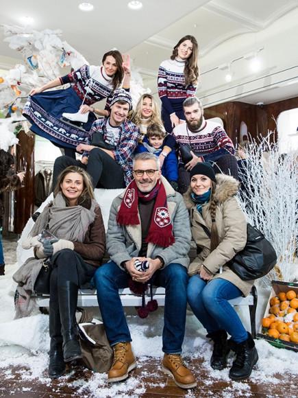 Вадим Дымов с семьей