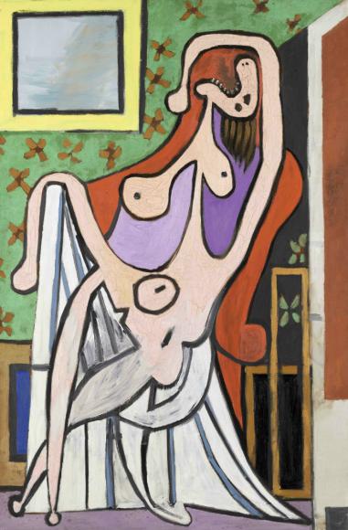 Пабло Пикассо. Большая обнаженная в красном кресле. Париж, 5 мая 1929 Национальный музей Пикассо, Париж