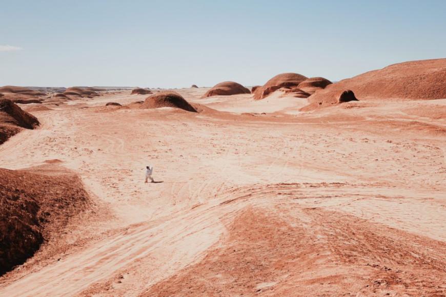 Дэн Лю, «Прогулка по Марсу»,iPhone 11 Pro Max— 2-е место в номинации «Фотограф года»
