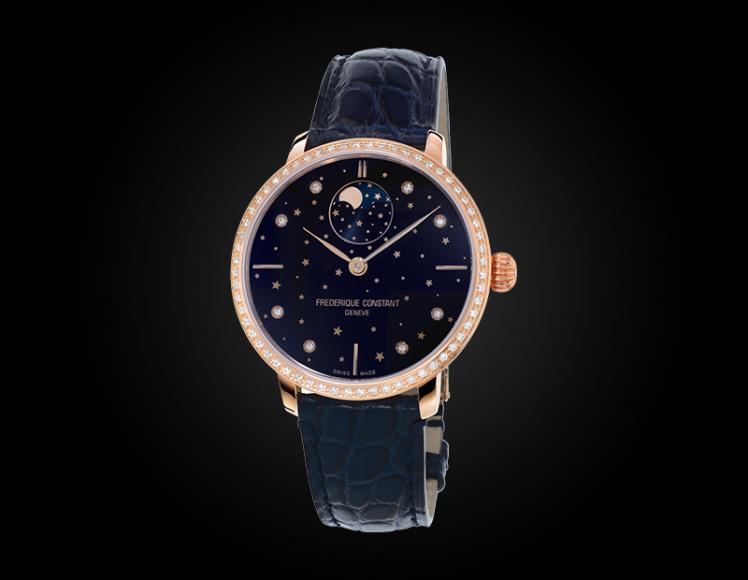 Slimline Moonphase Stars Manufacture, Frederique Constant, сталь — ₽ 332 210