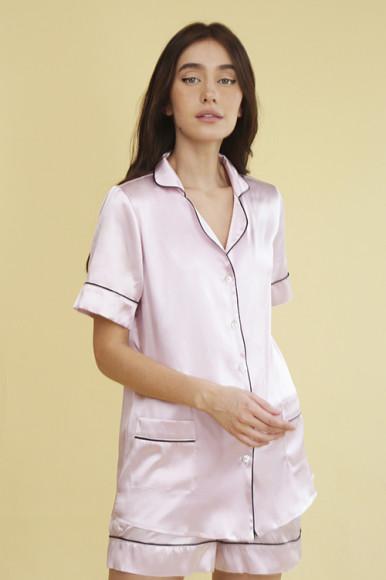 Шелковая пижама Primrose, 13 500 руб.