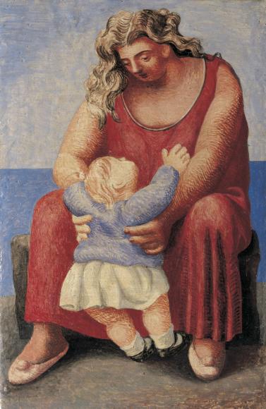 Пабло Пикассо. Мать и дитя. Париж, осень 1921 Фонд поддержки искусства Альмины и Бернара Руис-Пикассо, Мадрид