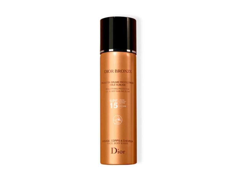 Солнцезащитное масло-дымка Dior Bronze SPF15 для кожи и волос.В составе фильтры анти-УФА и анти-УФВ широкого спектра действия, а также антиоксиданты, обеспечивающие высокую степень защиты.