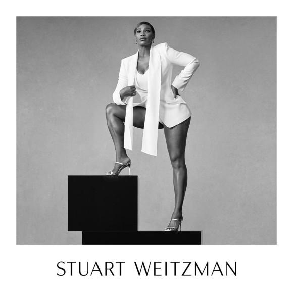 Серена Уильямс в рекламной кампании Stuart Weitzman, май 2020