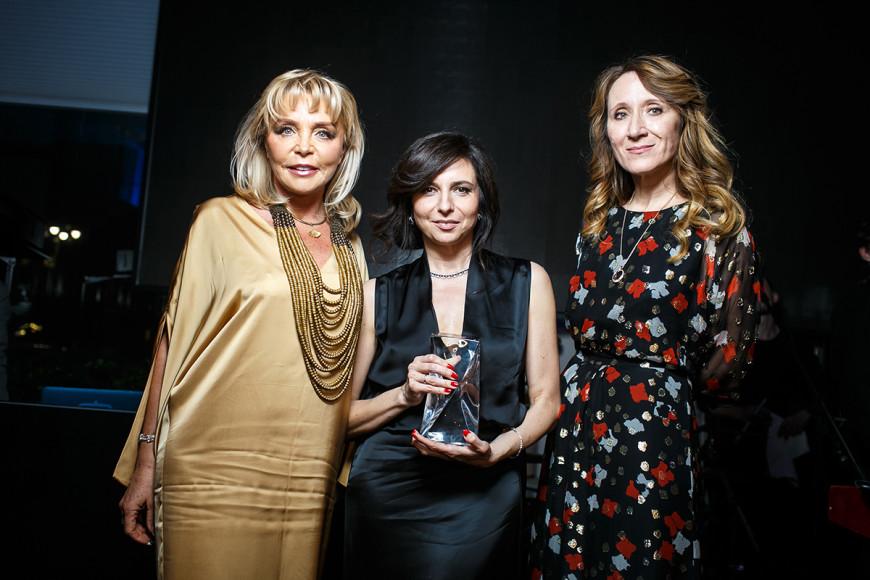 Екатерина Диброва, Алиса Хазанова и Юрате Гураускайте
