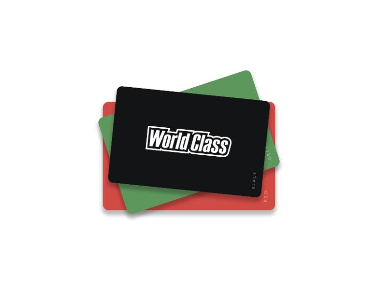 Клубная карта World Class