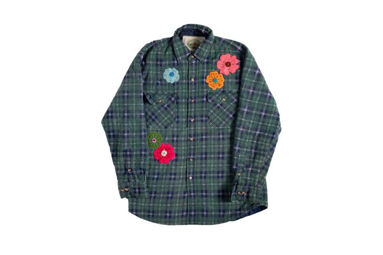Рубашка Bentgablenits из винтажных материалов, $295 (bentgablenits.com)