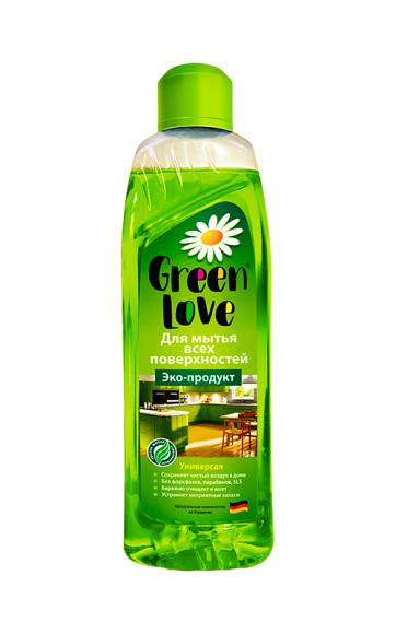 Средство для мытья всех поверхностей, Green Love