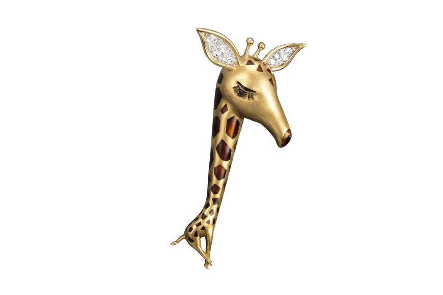 Брошь Girafe из коллекции La Boutique, 1964 год