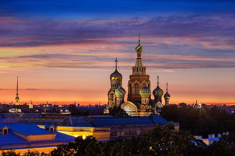 Вид из отеля«Гранд Отель Европа»